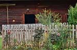 garden, fence