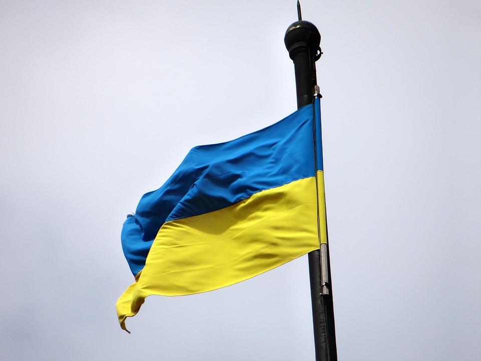 Ukrainian Flag Symbol Banner Free Photo On Pixabay