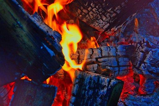 火, キャンプファイヤー, 燃焼, 書き込み, 炎, 赤, 気分, 素晴らしい