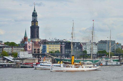 Hamburg, Michel, Elbe