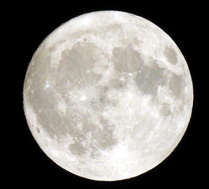 Free photo Full Moon Moon Night Sky Free Image on Pixabay