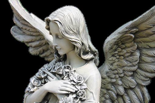 天使, 翼, おとぎ話, 神秘的な, フィギュア, 感情, 像, ホワイト, 愛