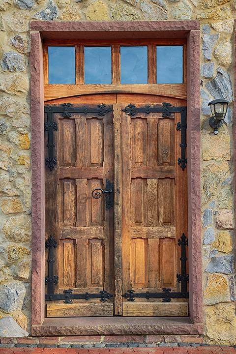 Puerta roble madera foto gratis en pixabay - Puerta de roble ...