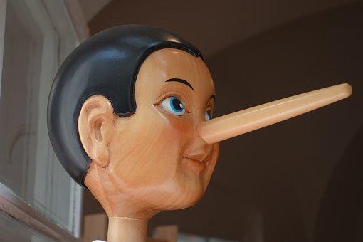 Pinocchio, Nose, Lying Nose, Long, Lie