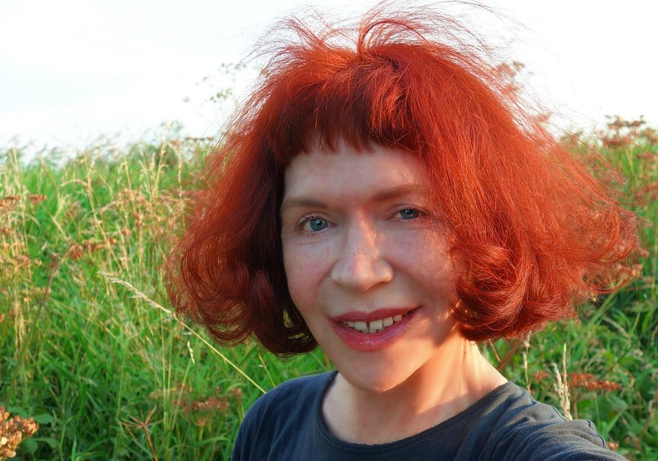 kostenloses foto frau gesicht portrà t rotes haar kostenloses