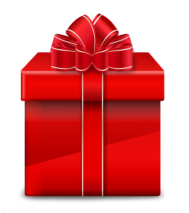 Gift Red Christmas · Free image on Pixabay