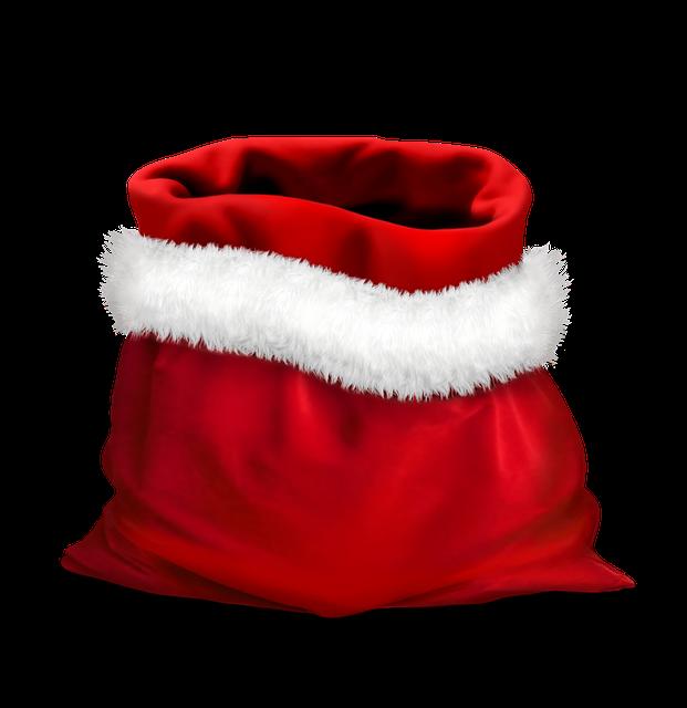 gift gifts red bag of santa 183 free image on pixabay