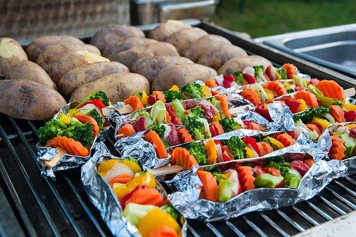 Barbecue, Vegetarian, Grill, Food, Vegan