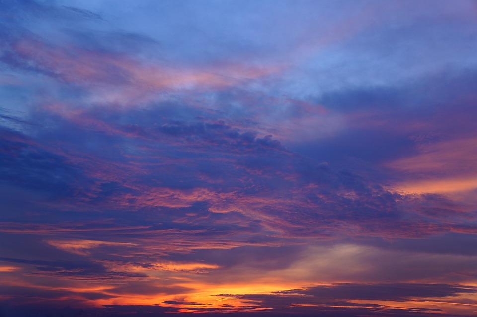 sunset colors free photo on pixabay
