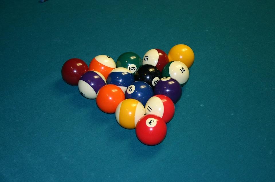 Pool, Balls, Table, 8 Ball, Game, Cue