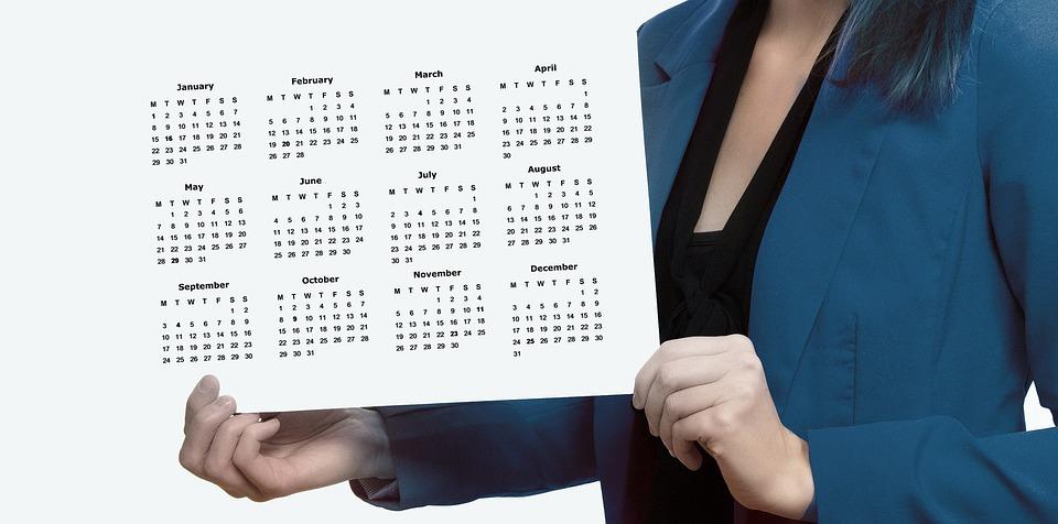 Agenda, Calendar, Woman, Businesswoman, Presentation