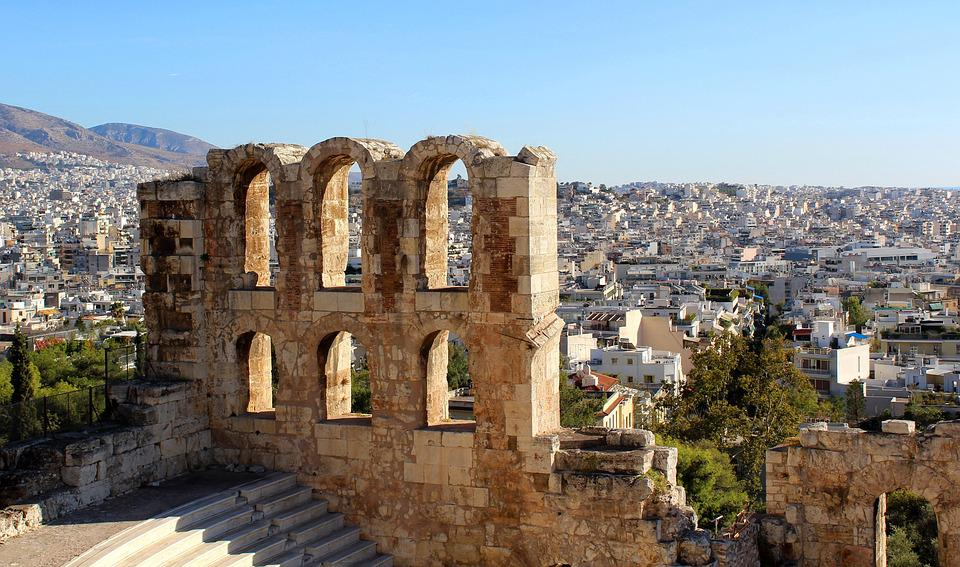 The Odeon Of Herodes Atticus, The Acropolis