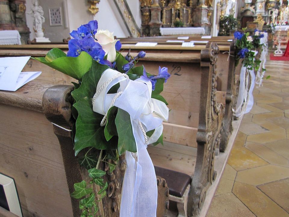 Kirche Hochzeit Banke Kostenloses Foto Auf Pixabay