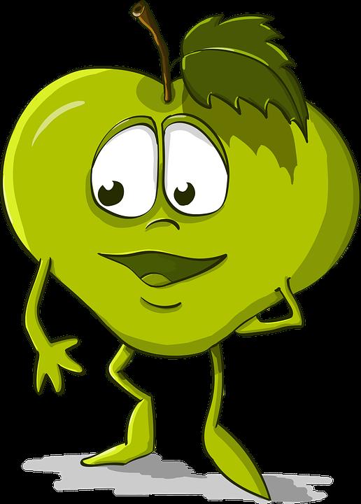 Apple Engracado Bondade Desenho Grafico Vetorial Gratis No Pixabay