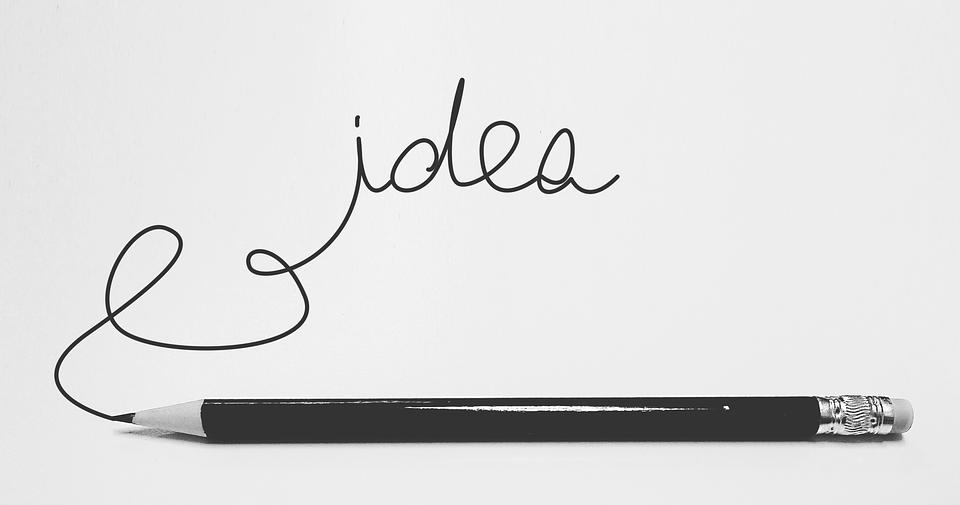 Idea, Fantasia, Thought, Written, Doodle, Ideas