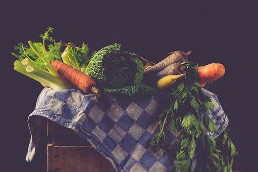 Vegetables, Ingredients, Fresh, Raw