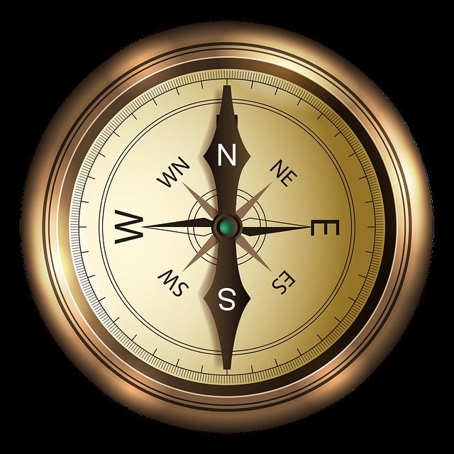запад компас картинки