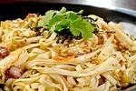 noodles, seafood, fry