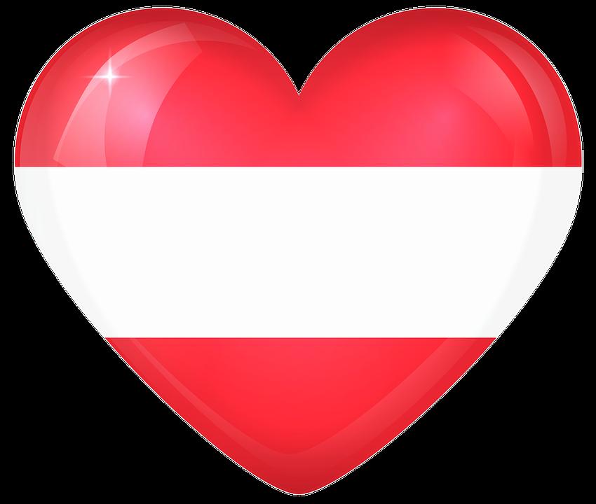 Austria Large Heart Free Image On Pixabay