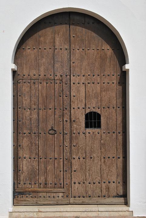 Door Goal Wooden Door Input Gate House Entrance