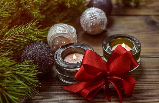 Christmas, Decoration, Bow