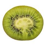 kiwi, fruit, half