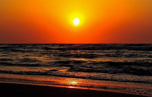 Kos, The Island Of Kos, Greece, Sunset