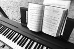 piano, electric piano, music