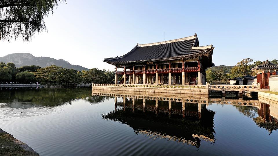 Ảnh đẹp cảnh đẹp hàn quốc : kyng gyeonghoeru palace