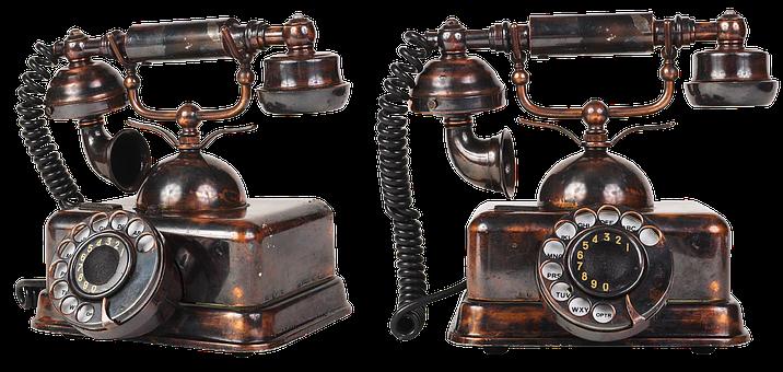 Curiosidades de Valencia, Teléfono antiguo