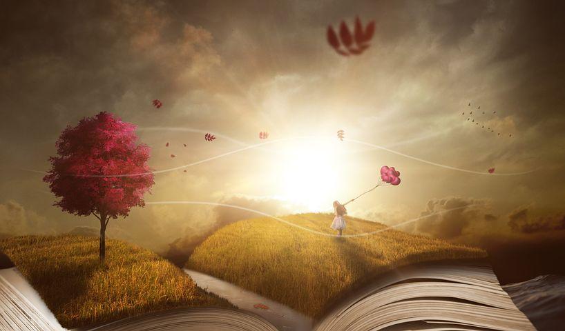 Book, Landscape, Nature, Wind, Weather