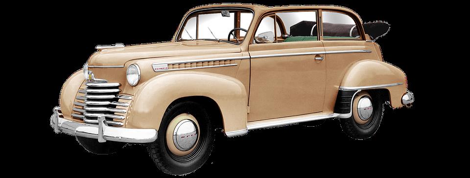 Opel, Olympia, Cabriolet, 50Ziger Jahre, Fotomontage
