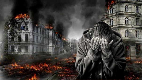 戦争, 破壊, 絶望, 恐怖, 無力, クンマー, ホームレス, 戦争, 戦争