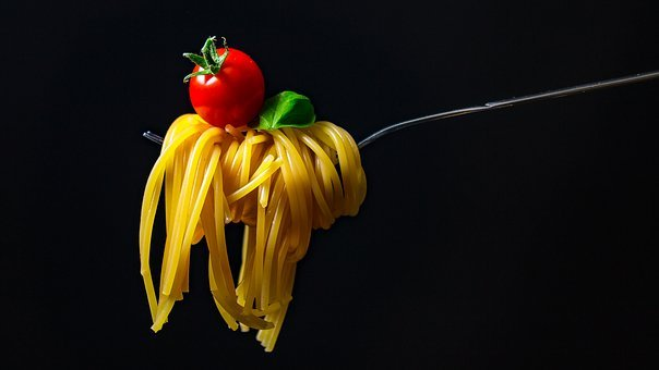 Espaguetis Pasta Fideos Italiano