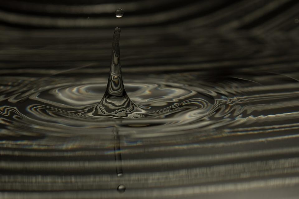 ドロップ, 水, 液滴, ティアー ドロップ