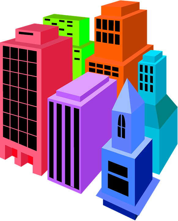 buildings clip art colorful free image on pixabay rh pixabay com building clip art black and white buildings clipart png