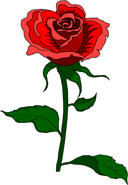 rose vintage clip art free image on pixabay
