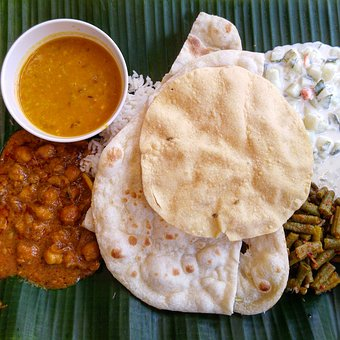 Los Alimentos, Naan, Curry, Asia, India