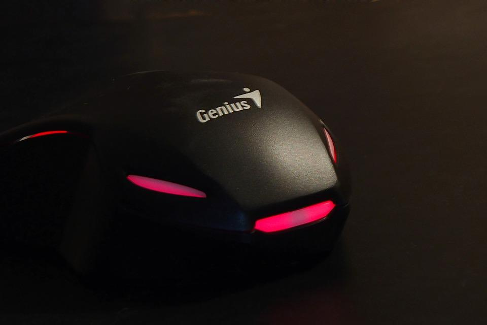 Computer, Pc Accessories, Mouse, Game, Lights