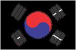 south korea, flag, korea