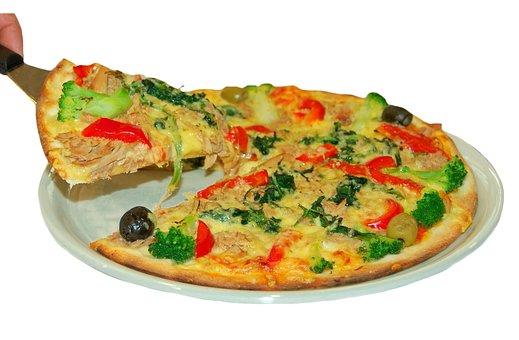 Pizza, Frisch, Crujiente, Vegetariano