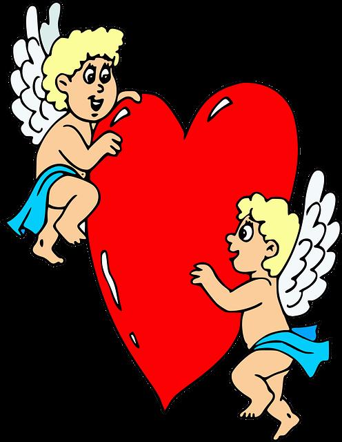 Пожеланиями доброе, картинки с сердечками и надписями и ангелами