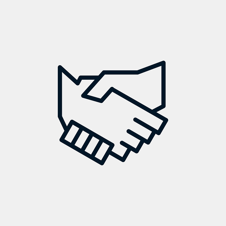 Business Agreement Hands 183 Free Vector Graphic On Pixabay