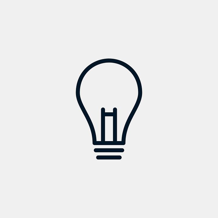 Lamp Light Idea Icon Electricity Lighting Lights