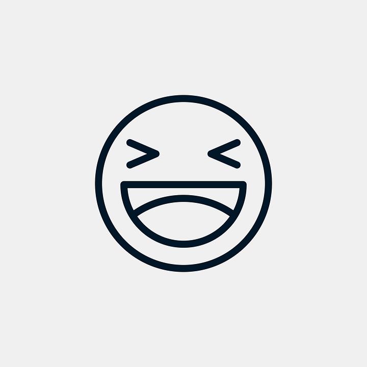 Grappige Emoticon Lachen Gratis Vectorafbeelding Op Pixabay