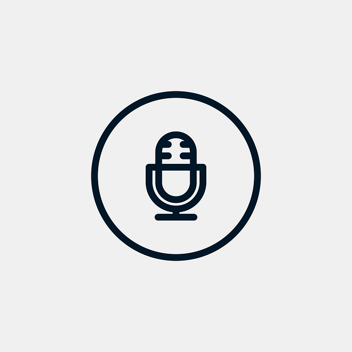 Microphone Icon Player · Free vector graphic on Pixabay