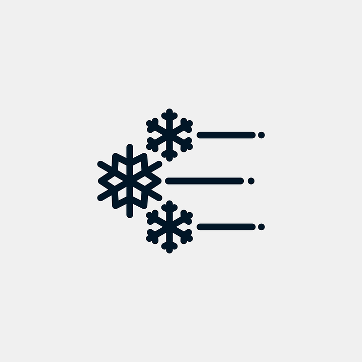 Snowflake Snow Wind 183 Free Vector Graphic On Pixabay
