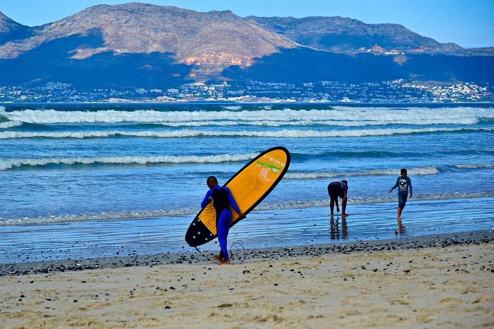 Surf on the Muizenberg Beach