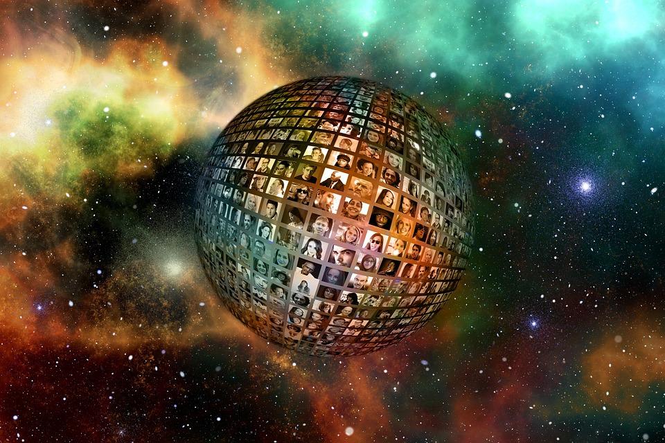 Universe Human Faces 183 Free Photo On Pixabay