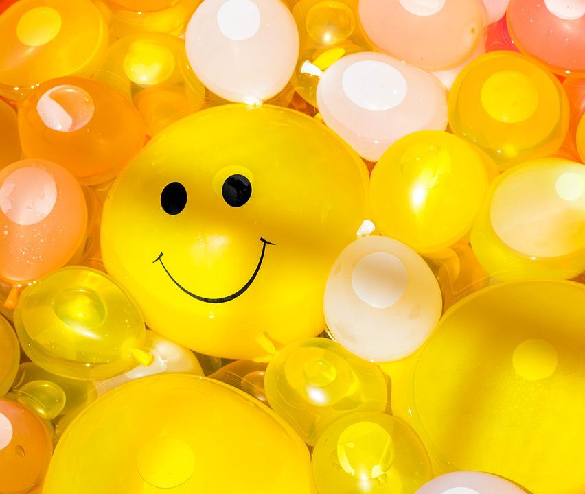 smile happy balloon smiling fun cheerful summer